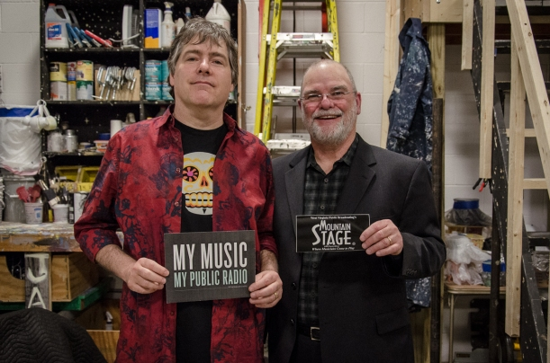 Bela Fleck and Larry Groce