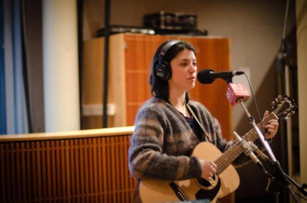 Photo of Sharon Van Etten by MPR